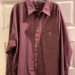 Red Men's Dress Shirt